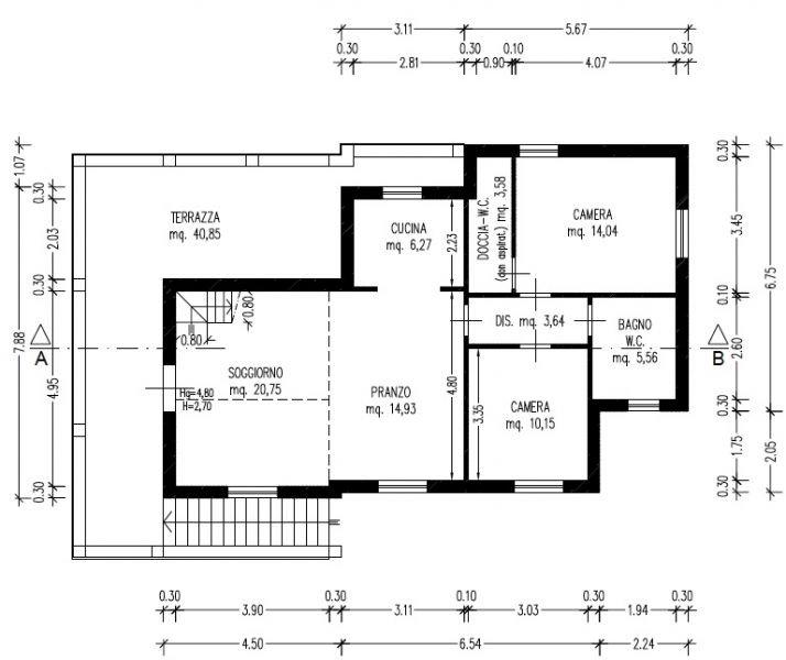 soggiorno-VILLA-in-vendita-Quercianella-R0395